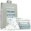 Little Bamboo Muslin Wash Clothes Whisper